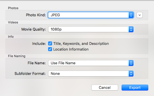 Adjusting Date and Time on Mac Photos Exports | TripodNinja